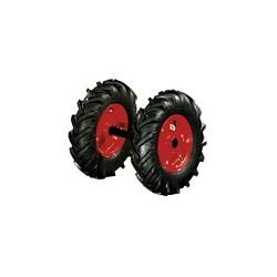 Jeu de roues semi-agraires