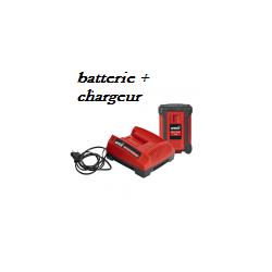 Kit batterie MTD 40V 2 Ah + chargeur