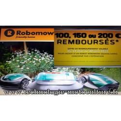 Tondeuse robot ROBOMOW RS615 U (2018)(kit d'installation compris)