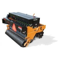 Semoir regarnisseur woods 213 cm - Base avec disques type cover crop fourni avec bac à grains saison froide