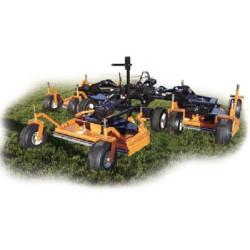 Tondeuse traînée 370 cm WOOD pour tracteur de 40 - 80 cv