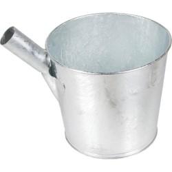 Seau à puits galvanisé