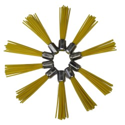 1 lot de brosses en plastique ( 10 pc )
