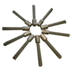 5 lots de brosses en acier ( 50 pc )