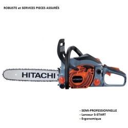 Tronçonneuse 35 cm de coupe démarrage confortable semi-pro HITACHI CS33EB
