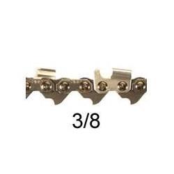 Chaine coupee 76 E 3/8 058 SARP gouge Carr'e