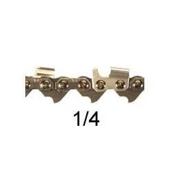 Chaine coupee 60 E 1/4 SARP gouge 1/2 Ronde