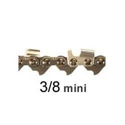 Chaine coupee 39 E 3/8 043 SARP gouge 1/2 Ronde