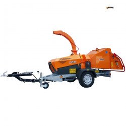 Broyeur de branches JENSEN A540 Système SPIDER ( Moteur diesel Kubota 50 CV )