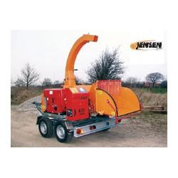 Broyeur de branches JENSEN A141 XL ( Moteur diesel Hatz 75 CV )
