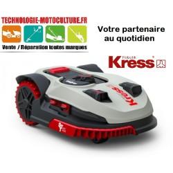 Robot tondeuse MISSION KR112 jusqu'a 1500 m² avec OAS (permet de détourner les arbres, obstacles...)
