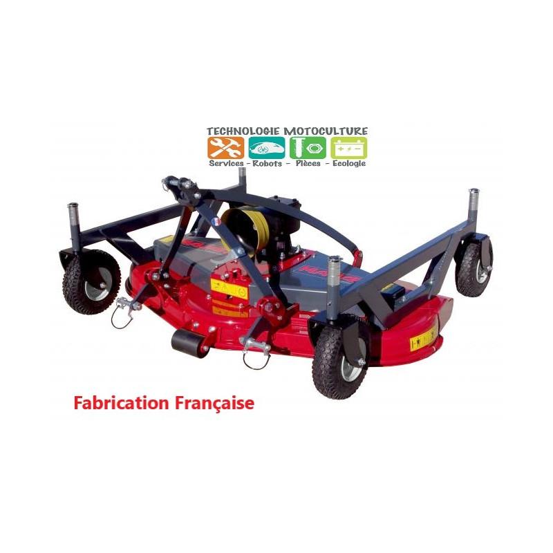 Tondeuse arrière 150 cm tracteur utilisation intensive éj. arrière