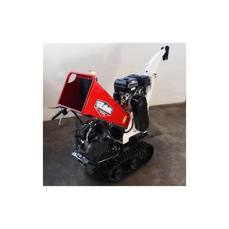 Broyeur de branche sur chenilles capacité de 10 mm MAXI - Moteur B&S 420 CC³ avec démarreur électrique