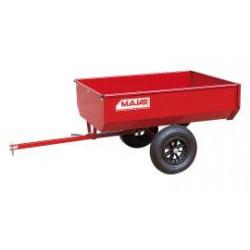 Remorque basculante 340kg MAJAR pour tondeuse autoportée