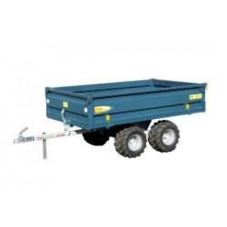 Remorque basculante double essieu CU 800 kg MAJAR pour quad