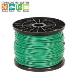 Bobine de 250m de fil de délimitation périmétrique standard 3,4 mm