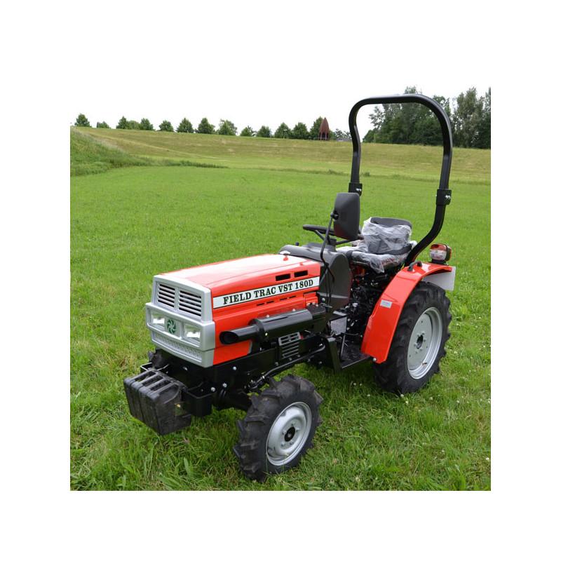Tracteur , microtracteur 15.5 CV moteur Mitshubish 4 roues motrices