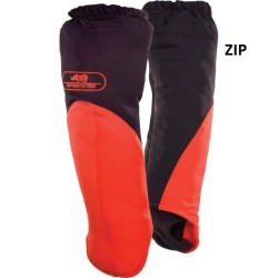 Manchette ZIP PROTECTION anti coupure orange