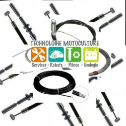 42221801110 CABLE COMMANDE GAZ STIHL ORIGINE